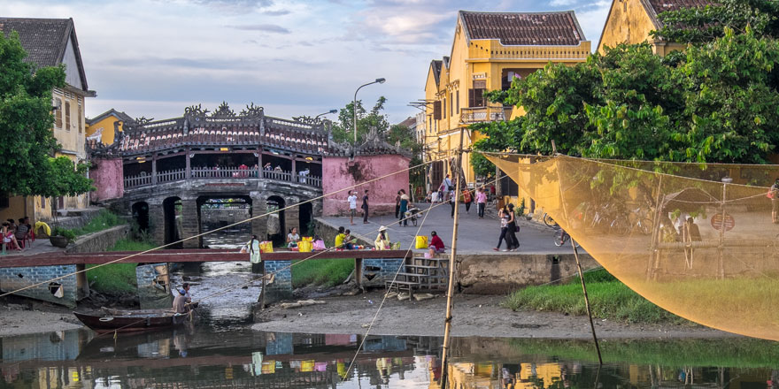 Hoi An - Ponte giapponese