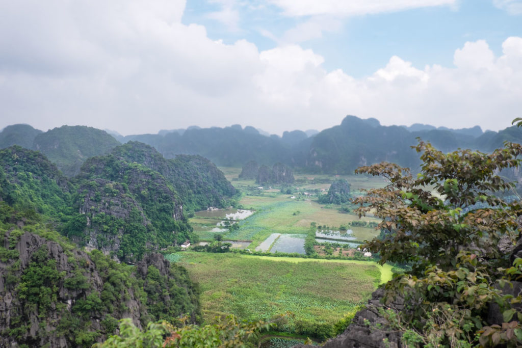 Panorama Bich Dong Pagoda