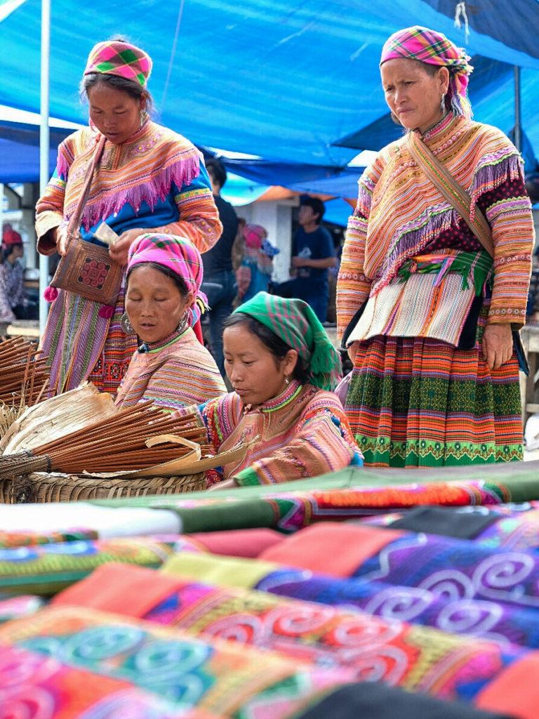 Bac Ha - mercato