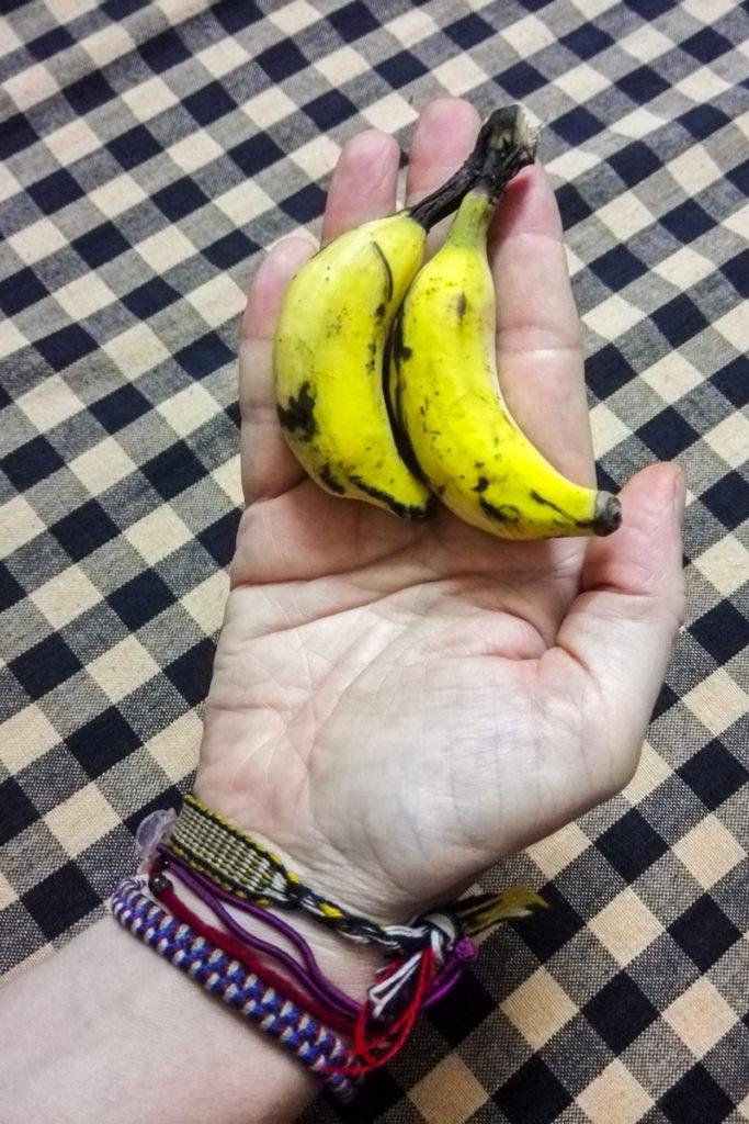 Banane mignon