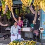 Kochi - Chiosco di banane