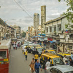 Daily life 04 Traffic street Mumbai