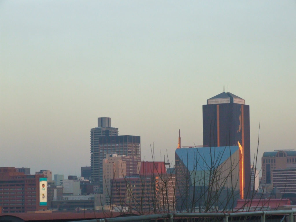 Johannesburg-skyline-city