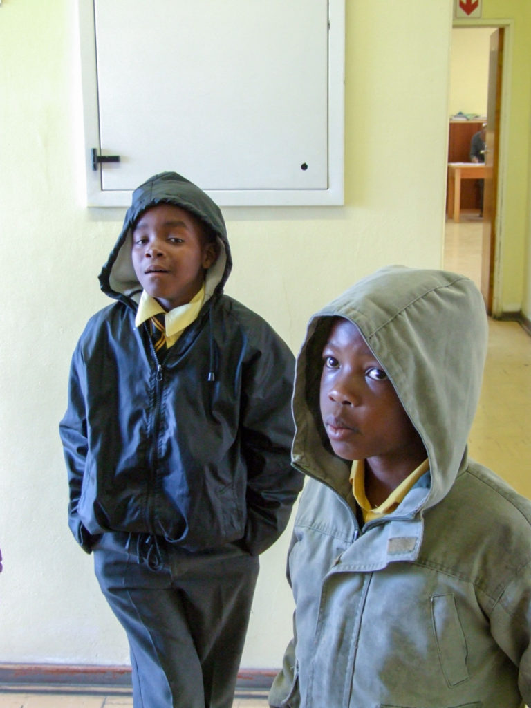 Cape Town - township school