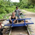 Battambang bamboo train (1)