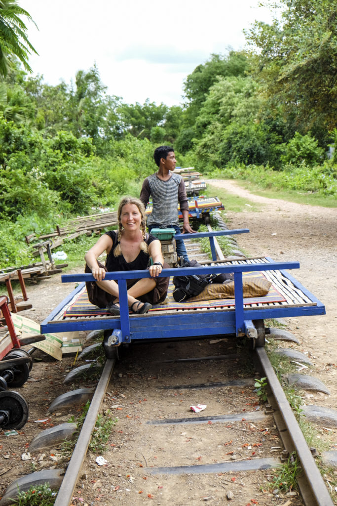 Battambang bamboo train (1)