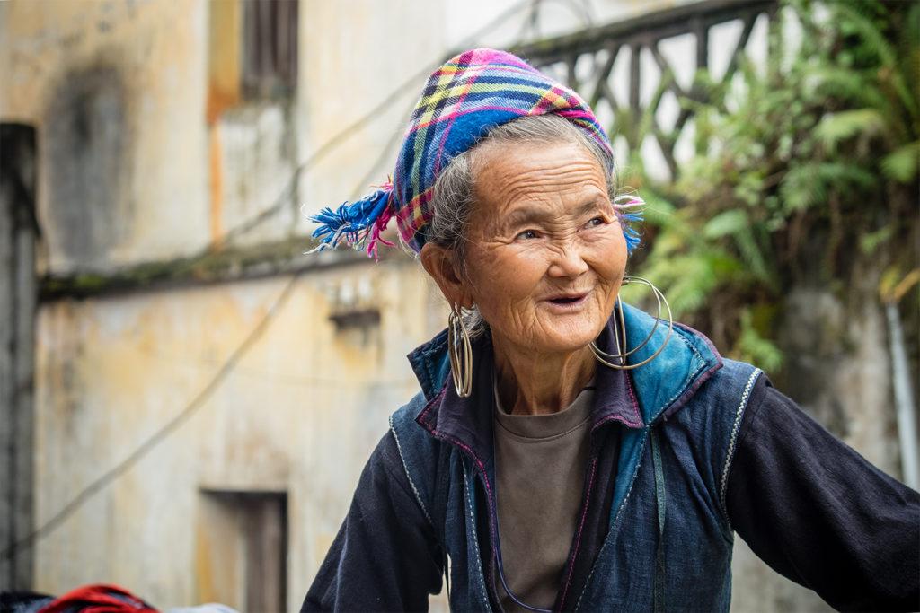 Donna del gruppo etnico h'mong