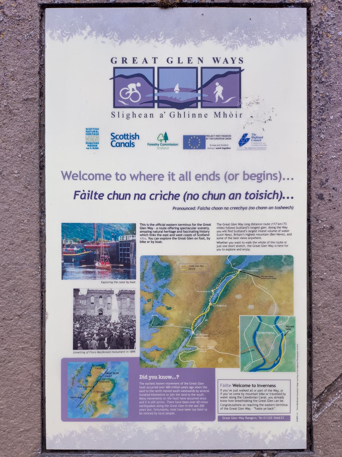 Great Glen Ways - Inverness